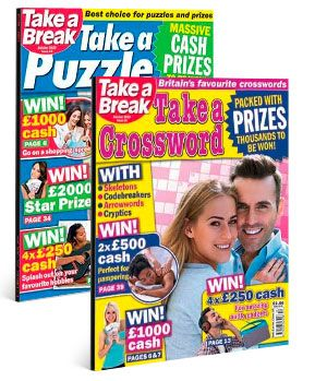 take a puzzle and take a crossword subscription pack