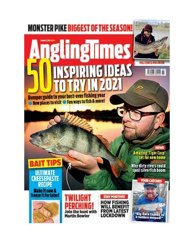 Angling Times Digital Issue 12/01/2021
