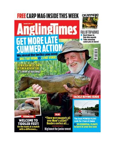 Angling Times Digital Issue 07/09/2021