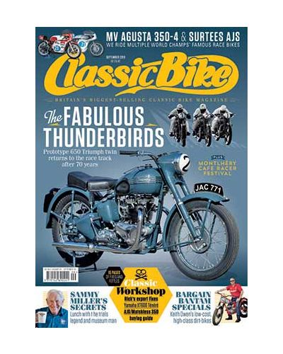 Classic Bike September 2019