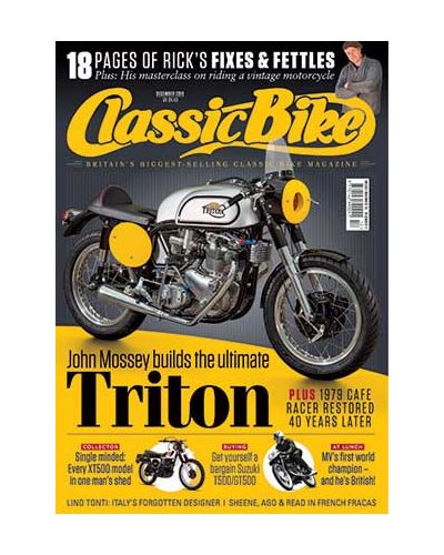 Classic Bike Digital issue December 2019