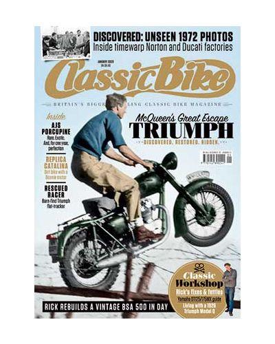 Classic Bike Digital issue January 2020