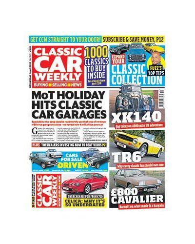 Classic Car Weekly Digital Issue 01/04/2020