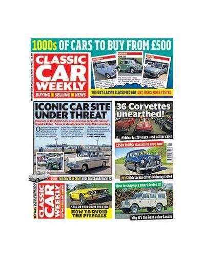 Classic Car Weekly Digital  Issue 29/01/2020