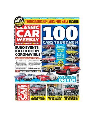 Classic Car Weekly Digital Issue 04/03/2020