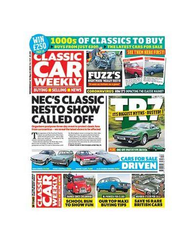 Classic Car Weekly Digital Issue 18/03/2020