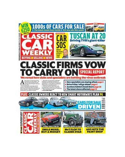 Classic Car Weekly Digital Issue 25/03/2020