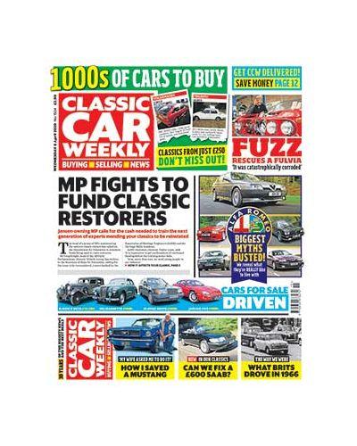 Classic Car Weekly Digital Issue 08/04/2020