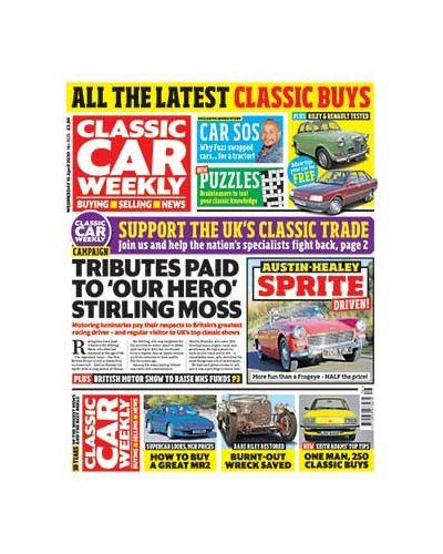 Classic Car Weekly Digital Issue 15/04/2020