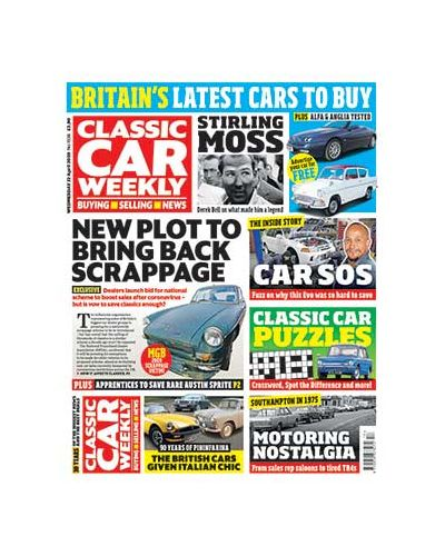 Classic Car Weekly Digital Issue 22/04/2020