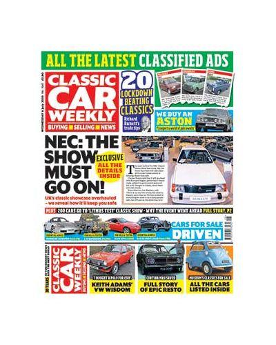 Classic Car Weekly Digital Issue 08/07/2020