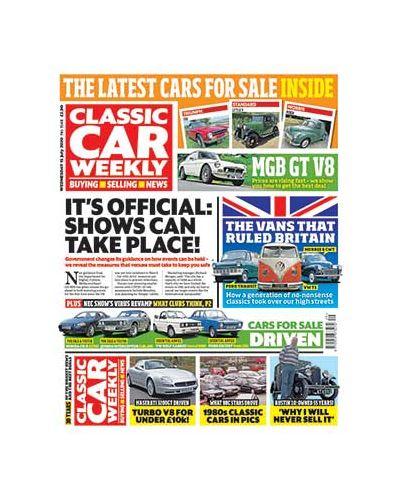Classic Car Weekly Digital Issue 15/07/2020