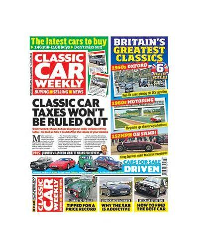 Classic Car Weekly Digital Issue 12/08/2020