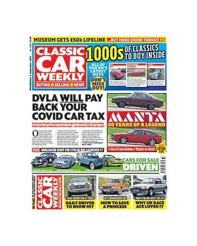 Classic Car Weekly Digital Issue 09/09/2020