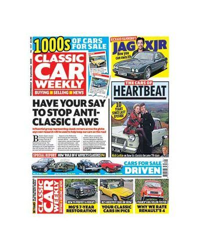 Classic Car Weekly Digital Issue 16/09/2020