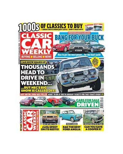 Classic Car Weekly Digital Issue 23/09/2020