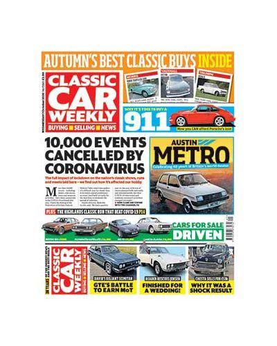 Classic Car Weekly Digital Issue 07/10/2020