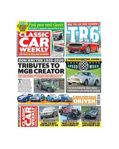 Classic Car Weekly Digital Issue 14/10/2020