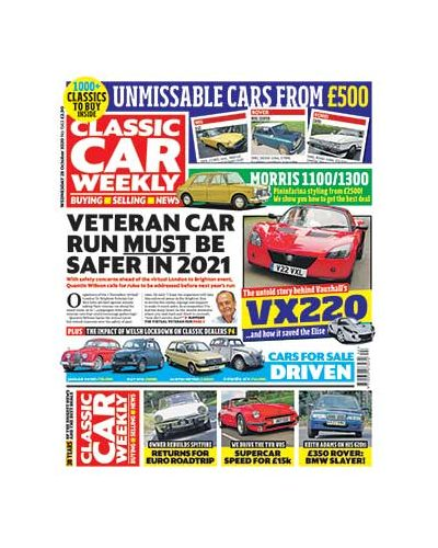 Classic Car Weekly Digital  Issue 28/10/2020