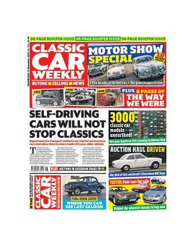 Classic Car Weekly Digital Issue 11/11/2020