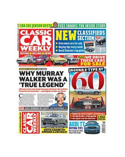 Classic Car Weekly Digital Issue 17/03/2021