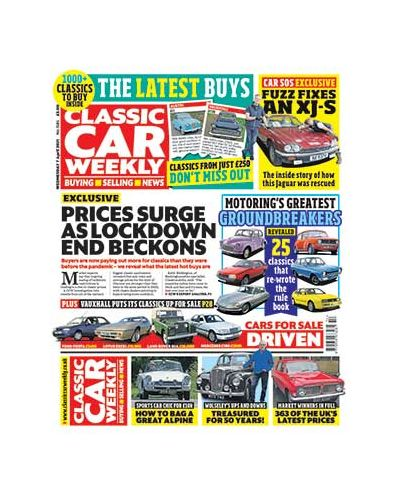 Classic Car Weekly Digital Issue 07/04/2021