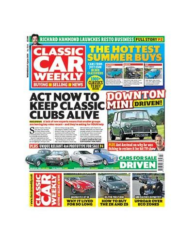 Classic Car Weekly Digital Issue 09/06/2021