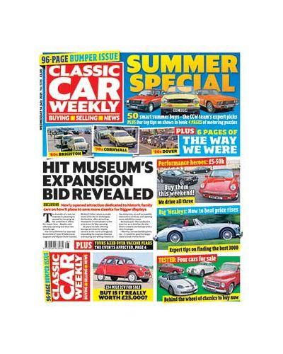 Classic Car Weekly Digital Issue 14/07/2021