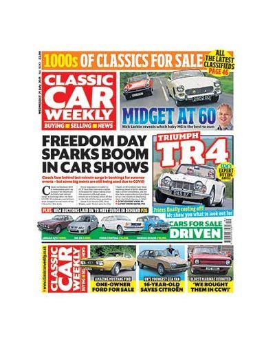 Classic Car Weekly Digital Issue 21/07/2021