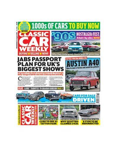 Classic Car Weekly Digital Issue 11/08/2021