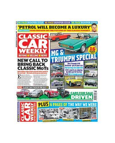 Classic Car Weekly Digital Issue 18/08/2021