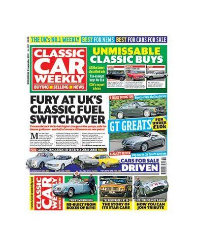 Classic Car Weekly Digital Issue 08/09/2021