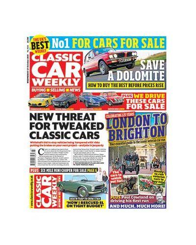 Classic Car Weekly Digital Issue 27/10/2021