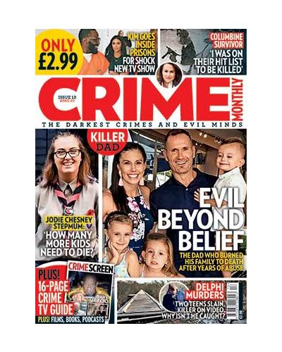 Crime Monthly Print Issue 13