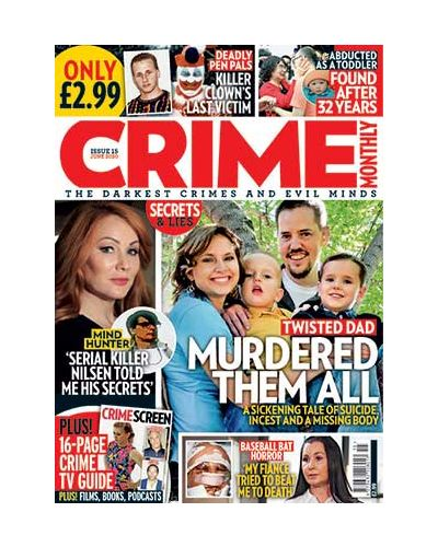 Crime Monthly Print Issue 15