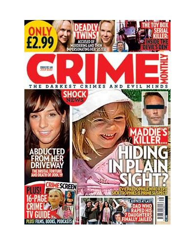 Crime Monthly Print Issue 16