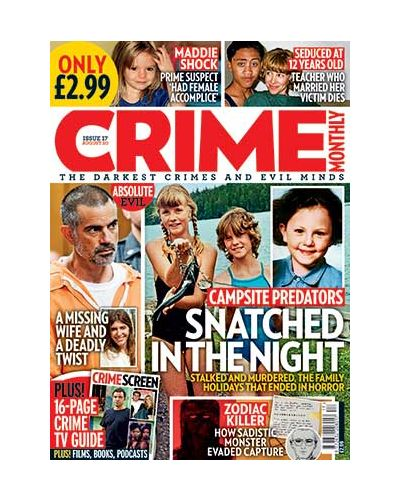 Crime Monthly Print Issue 17