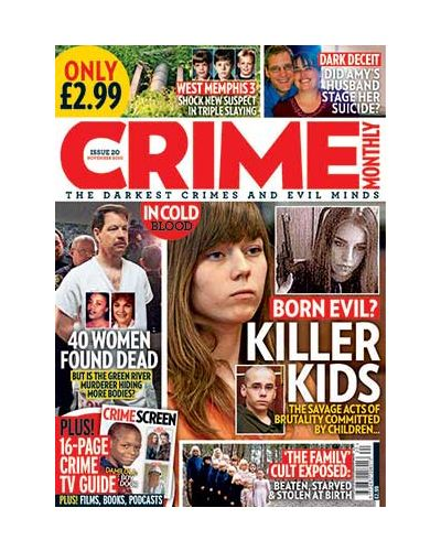 Crime Monthly Print Issue 20