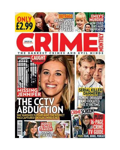Crime Monthly Print Issue 22