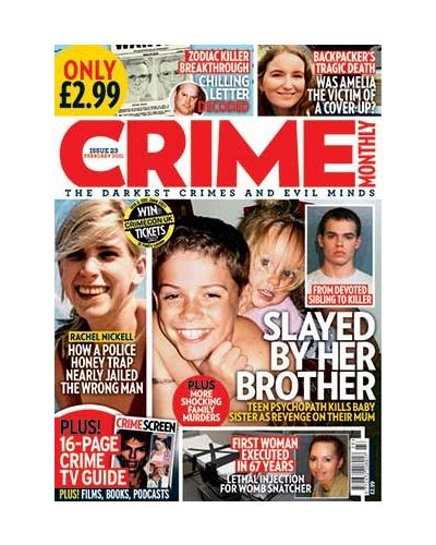 Crime Monthly Print Issue 23