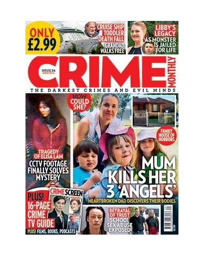 Crime Monthly Print Issue 24
