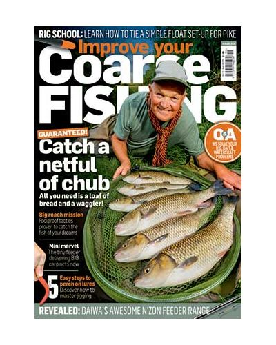 Improve Your Coarse Fishing issue 356
