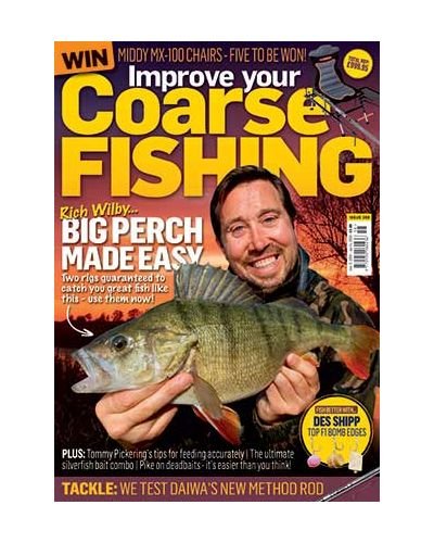 Improve Your Coarse Fishing issue 358
