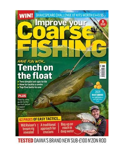Improve Your Coarse Fishing Issue 376