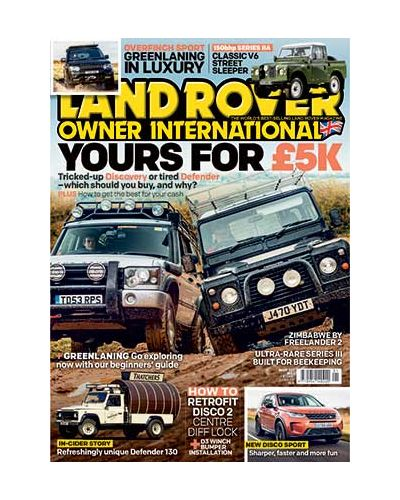 Land Rover Owner Digital issue January 2020