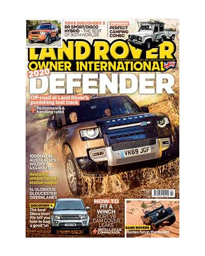 Land Rover Owner issue February 2020