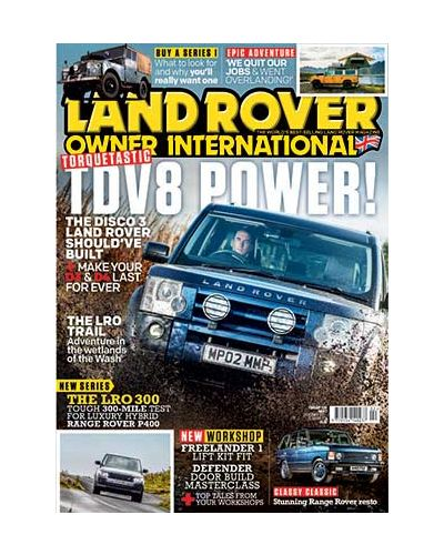 Land Rover Owner February 2021