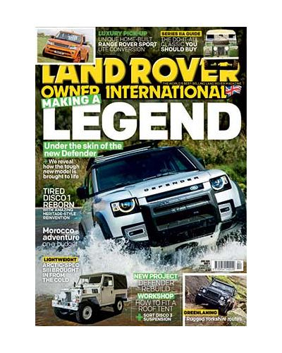 Land Rover Owner April 2020