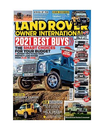 Land Rover Owner April 2021