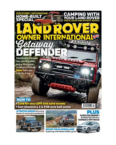 Land Rover Owner issue May 2019
